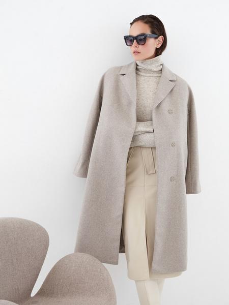Шерстяное пальто - фото 1