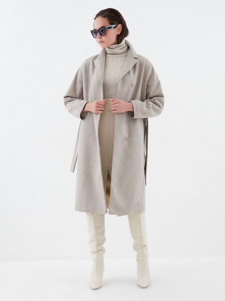 Шерстяное пальто - фото 4