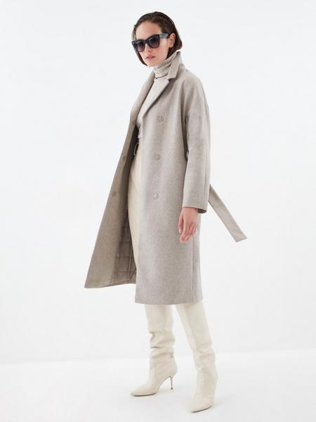 Шерстяное пальто - фото 5
