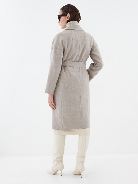 Шерстяное пальто - фото 6