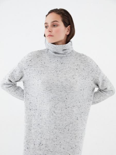 Теплое платье-миди - фото 3