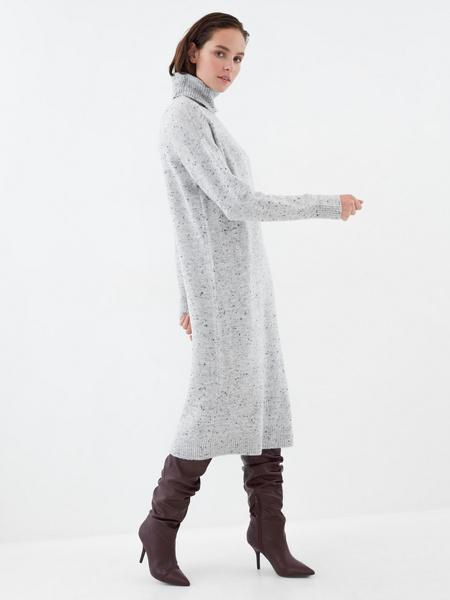 Теплое платье-миди - фото 5