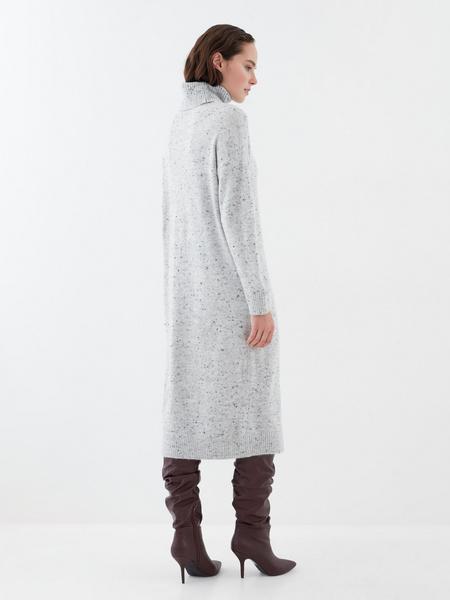 Теплое платье-миди - фото 6