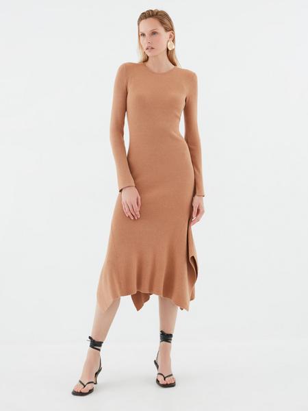 Платье с воланами - фото 6