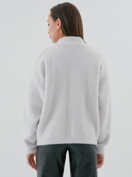 Мягкий кардиган с карманами - фото 4
