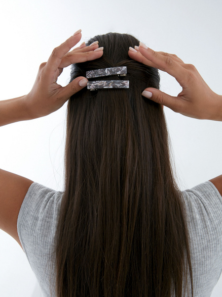 Заколка для волос под камень