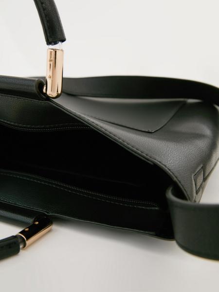 Сумка с металлическими ручками - фото 6