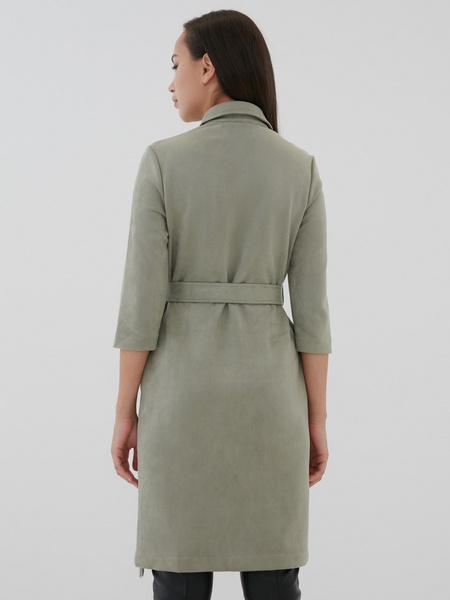 Замшевое платье-рубашка - фото 3