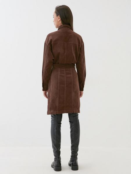 Вельветовое платье - фото 5