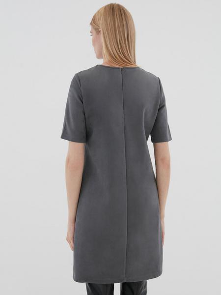 Замшевое платье - фото 4
