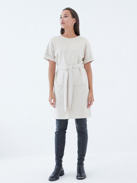 Замшевое платье - фото 6