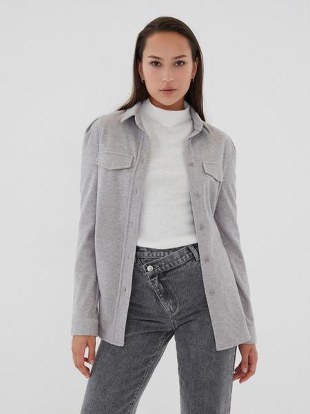 Блузка с рукавами-фонариками - фото 8