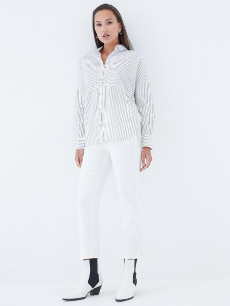 Блузка в полоску - фото 6