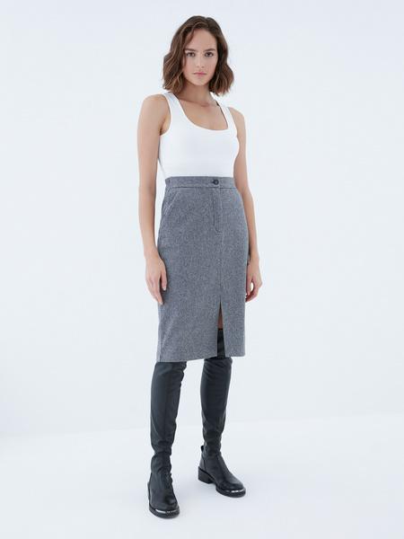 Прямая юбка - фото 2