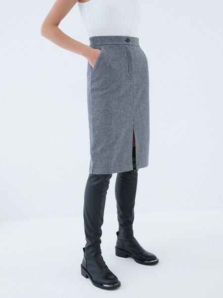 Прямая юбка - фото 3
