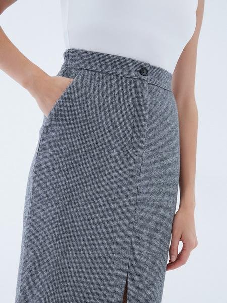 Прямая юбка - фото 4