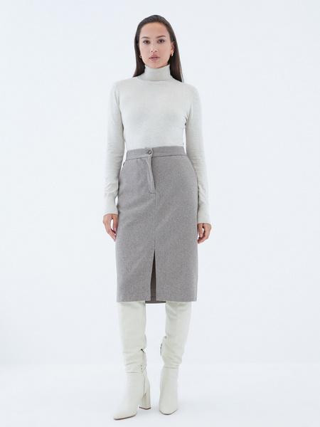 Прямая юбка - фото 5