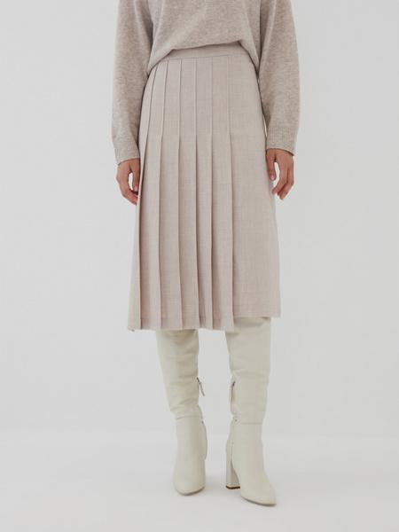 Комбинированная юбка - фото 1