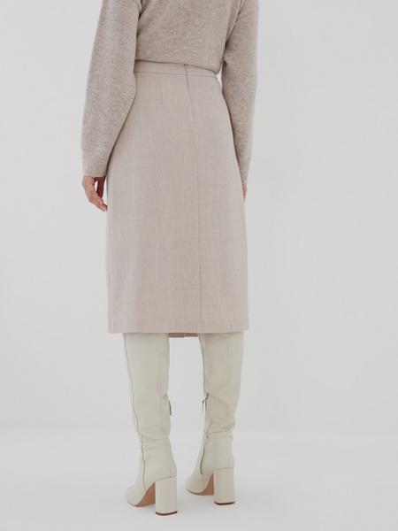 Комбинированная юбка - фото 3