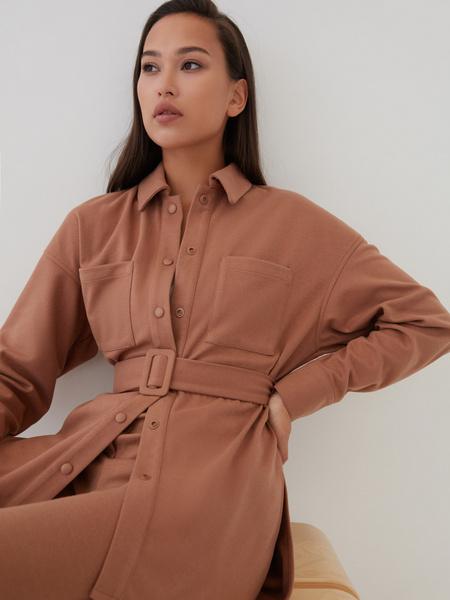 Блузка с поясом - фото 3