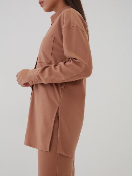 Блузка с поясом - фото 5