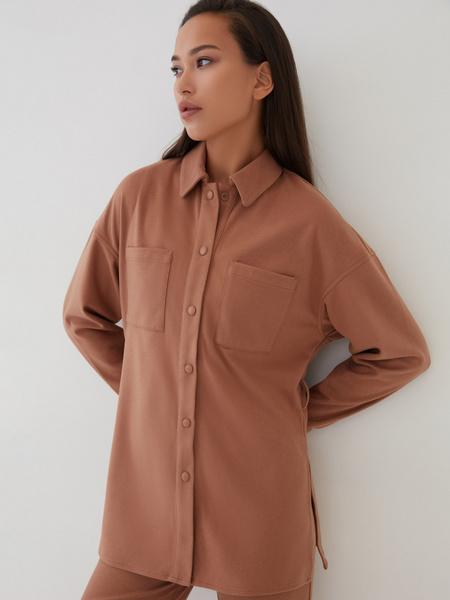 Блузка с поясом - фото 7