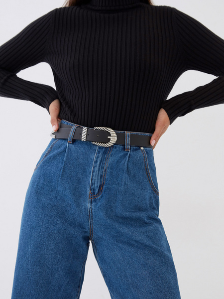 Широкие джинсы - фото 4