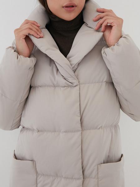 Пуховик с карманами - фото 2