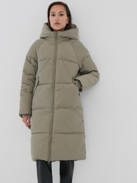Пальто с капюшоном - фото 1
