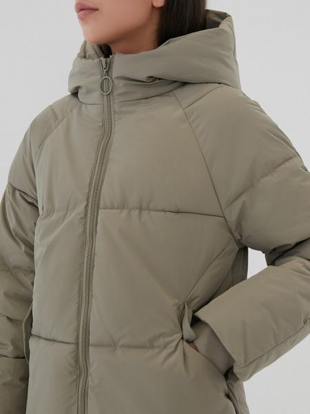 Пальто с капюшоном - фото 2