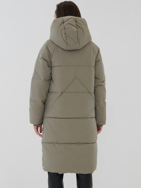 Пальто с капюшоном - фото 5