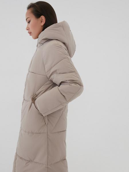 Пальто с капюшоном - фото 4