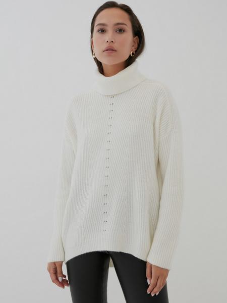 Удлиненный свитер - фото 3