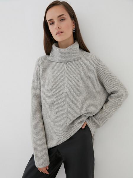 Удлиненный свитер - фото 1