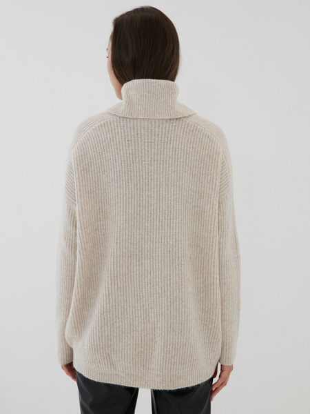 Удлиненный свитер - фото 4