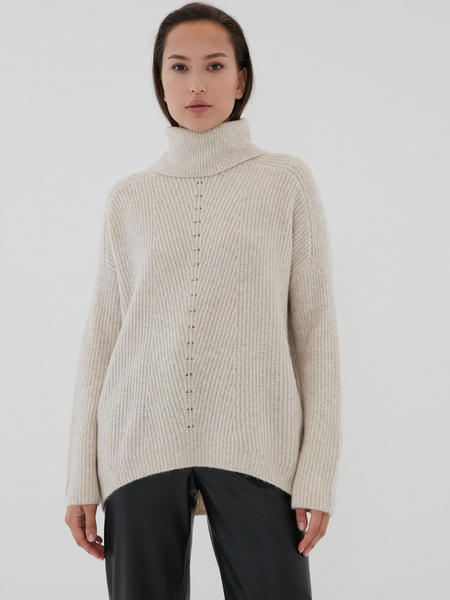 Удлиненный свитер - фото 5