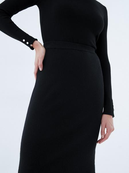 Трикотажная юбка - фото 4