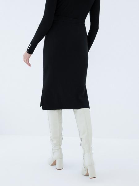Трикотажная юбка - фото 5