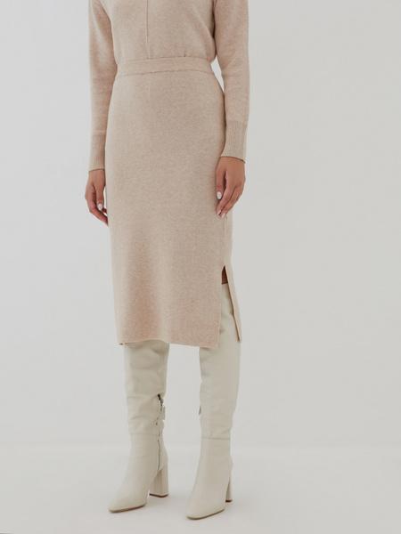 Трикотажная юбка - фото 2