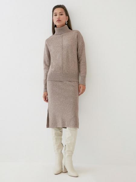 Трикотажная юбка - фото 1