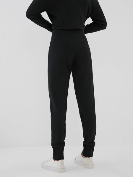 Трикотажные брюки с завязками - фото 4