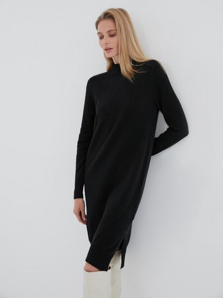 Утепленное платье - фото 1