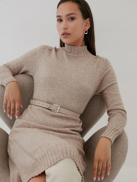 Утепленное платье - фото 4