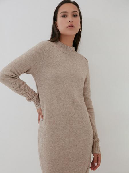 Утепленное платье - фото 5