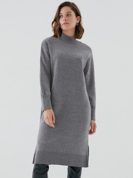 Платье с высоким горлом - фото 3
