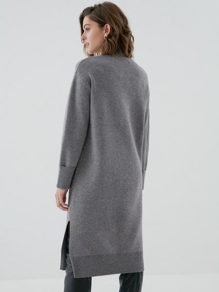 Платье с высоким горлом - фото 4