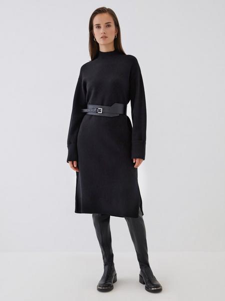 Платье с высоким горлом - фото 2