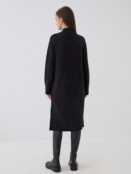 Платье с высоким горлом - фото 6