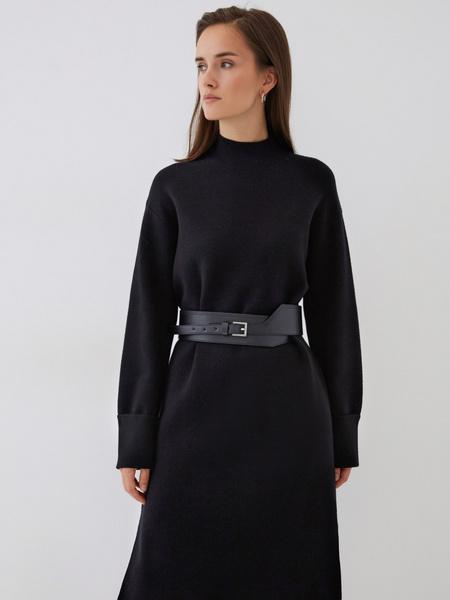 Платье с высоким горлом - фото 7