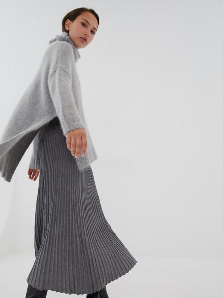Плиссированная юбка на резинке - фото 2